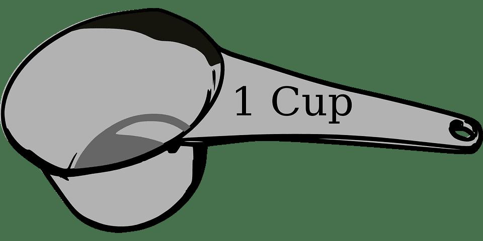 1 cup - mått för optimerade landningssidor