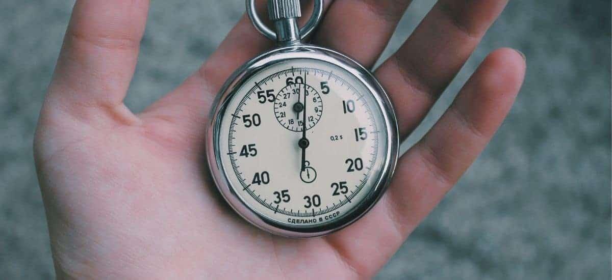 Tidtagarur för att visa 1 minut