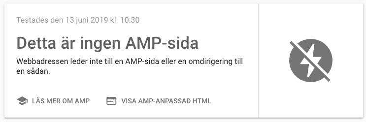AMP-test