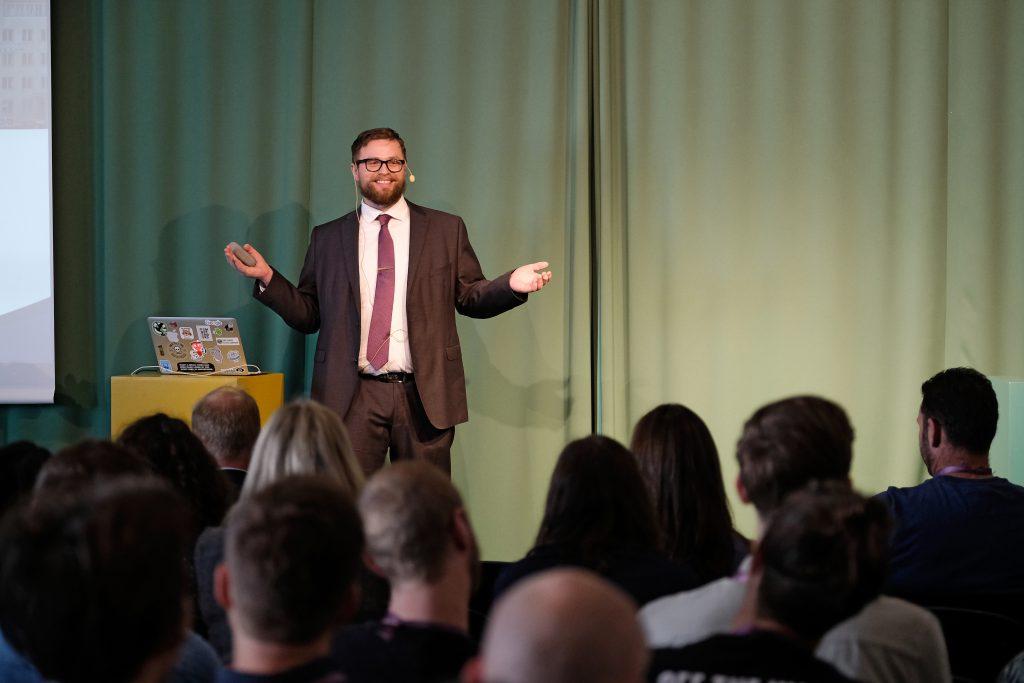 Rögnvaldur Gudmundsson på SearchStars 2019