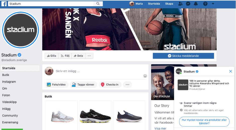stadium facebook