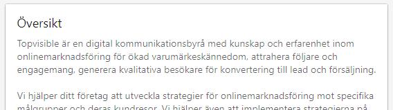 Topvisible LinkedIn