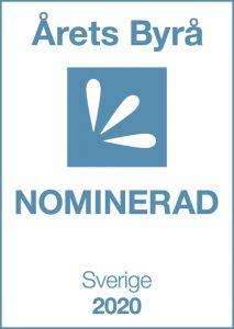 Topvisible nominerade till årets byrå 2020