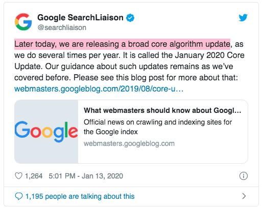 Digitala Nyheter - Google Core Update