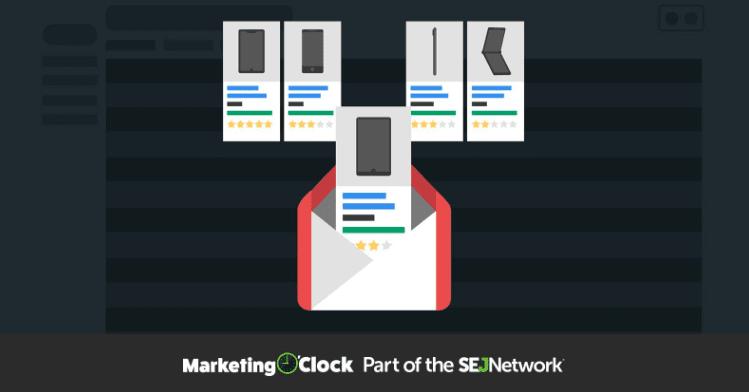 Shopping Ads intar Gmail