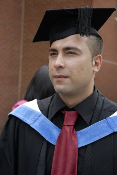 Massi Najimi Graduation