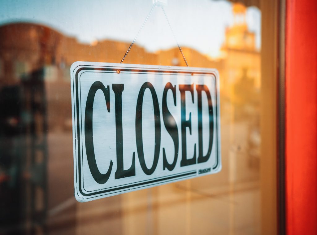 Google ranking påverkas inte av stängda butiker