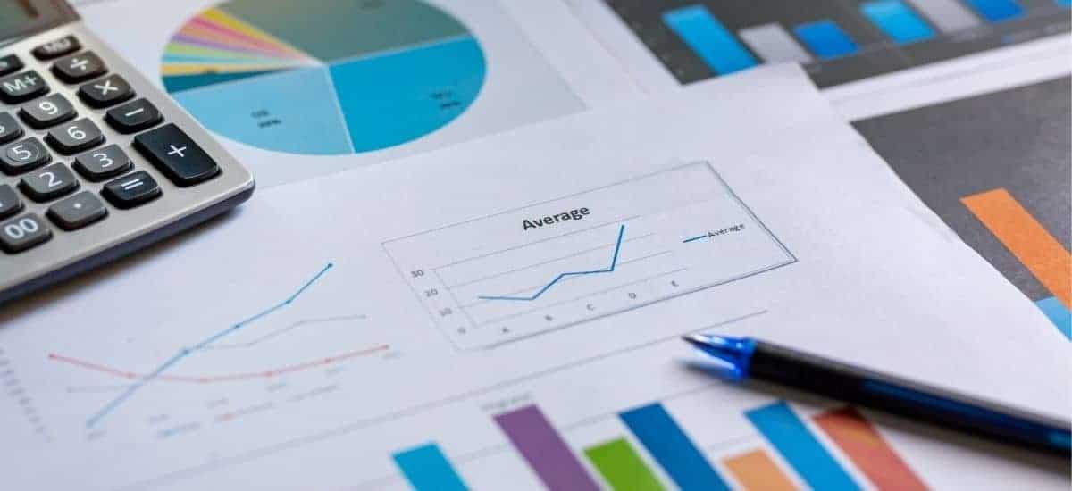 Bild på data och statistik