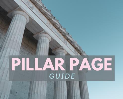 Pillar page guide banner vad varför hur Topvisible