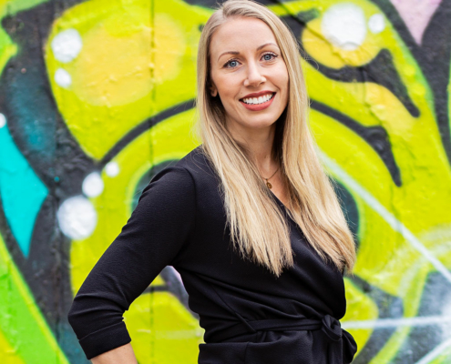 Caroline Skogh praktikant på TopVisible