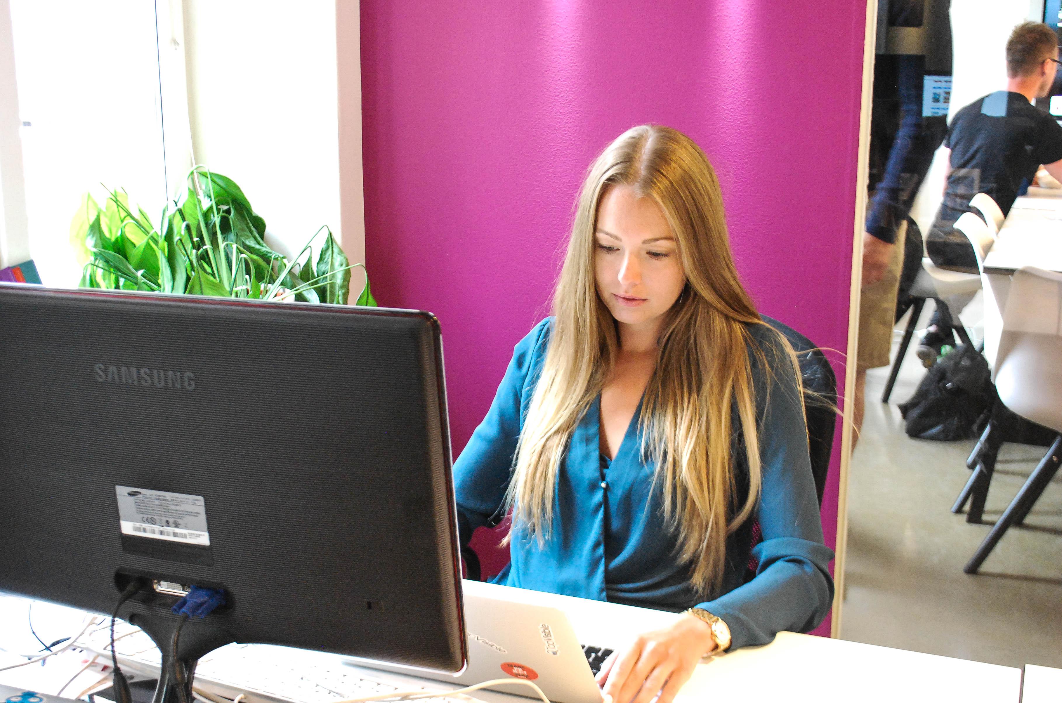 Johanna är vårt senaste tillskott i SEO-teamet