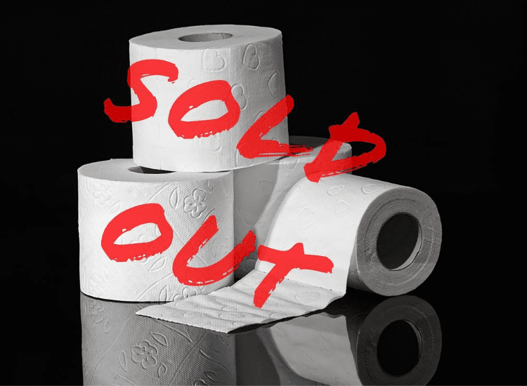 Toalettpapper - sold out