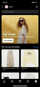Instagram shopping collections