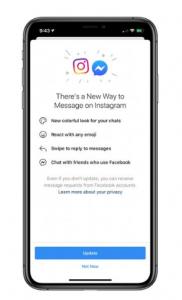 facebook instagram chatt