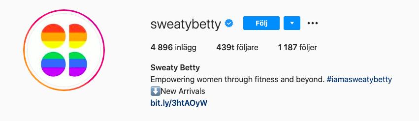 Få fler följare till din Instagram profil och webbplats