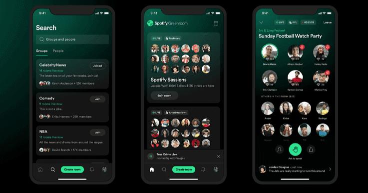 Digitala nyheter Spotify