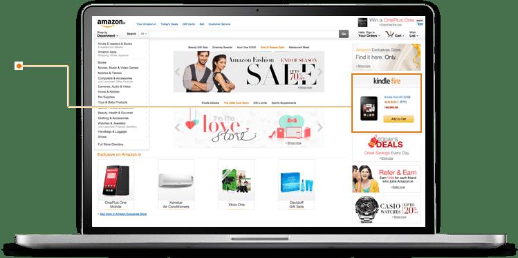 Amazon Display Ad