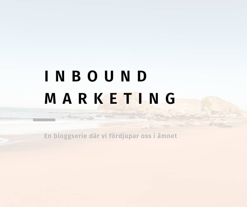 vad är inbound marketing?