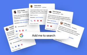 profile cards google