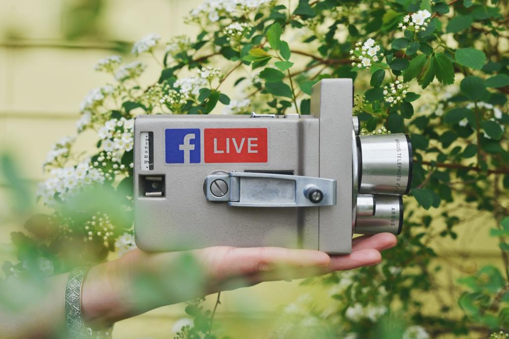 Digitala nyheter Facebook video